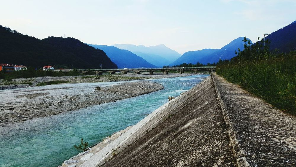 Tolmezzo Rosta Relax White Sky Blue River