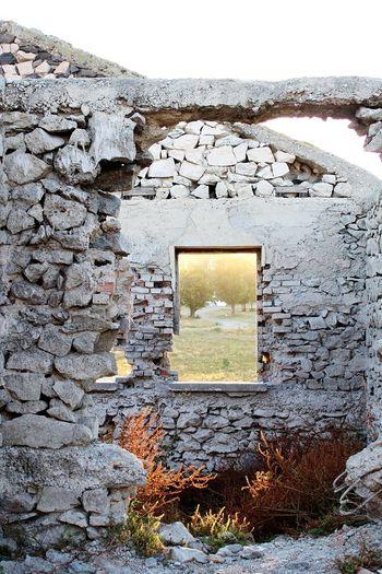 Window Architecture Photography EyeEmNewHere Stone Stone Wall Wall Nature Taking Over Demolition Destruction Window Sky Close-up Architecture The Architect - 2018 EyeEm Awards 10