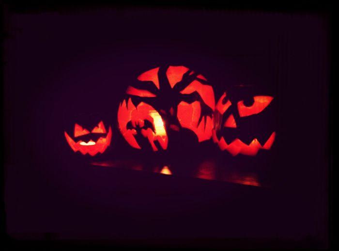 Halloween Dynia Pumpkin Having Fun