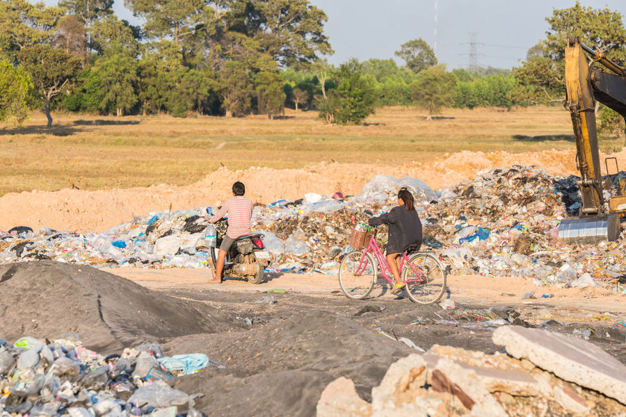 Bottle City Environment Landfill Landfill City Landfill Waste Management Plastic Recycle Recycled Materials Recycling Thailand Waste