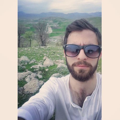 Me Swag White Sunglasess Selfietime Beard Bearded Selfie Mountain Erbil Instakurdish Kurdishinsta Hawler Sulimani