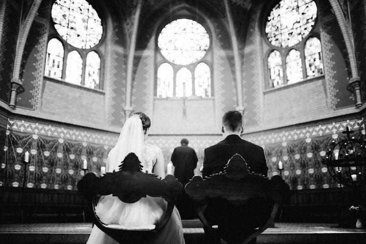 Wedding pray in