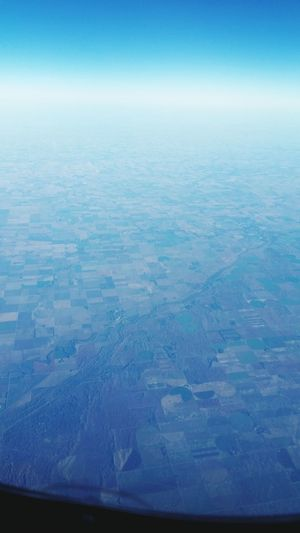 From An Airplane Window Early Flight Airplanes Nature World