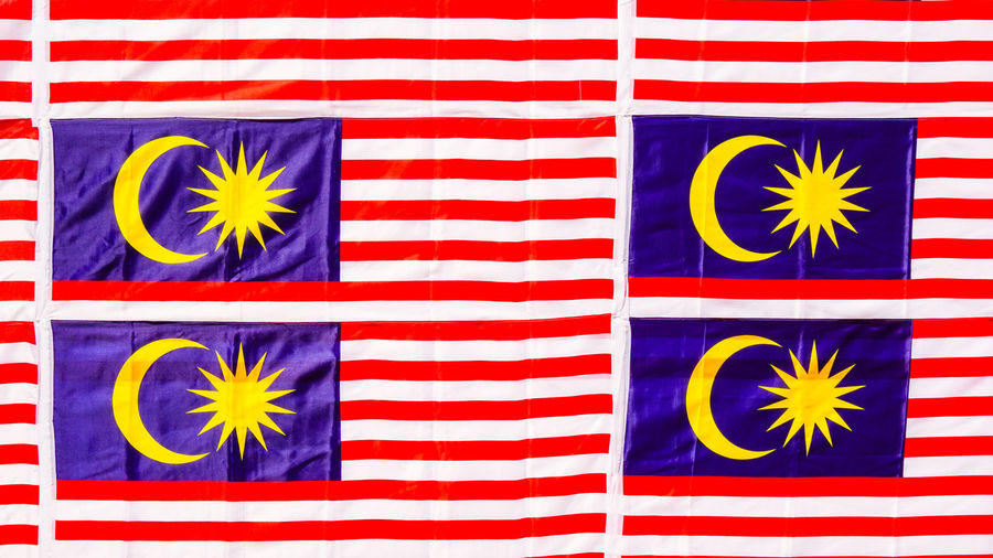 A Malaysia flag at the national independance day Celebration Country Event Freedom Holiday Patriot Patriotic Patriotism People Watching Spirit Travel Unity Banner Culture Day Editorial  Festival Flag History Independance Malaysia Malaysian Merdeka People Public