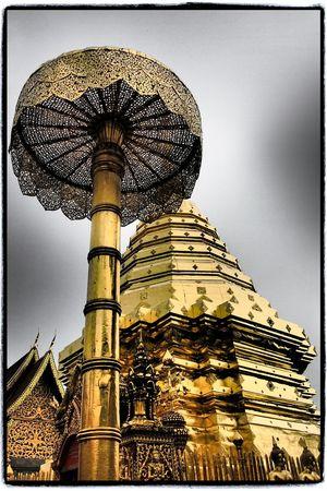 Travel Photography Temple Chiangmai,Thailand Doi Suthep