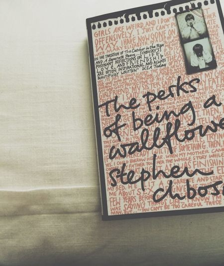 Books The Perks Of Being A Wallflower Taking Photos Hello World