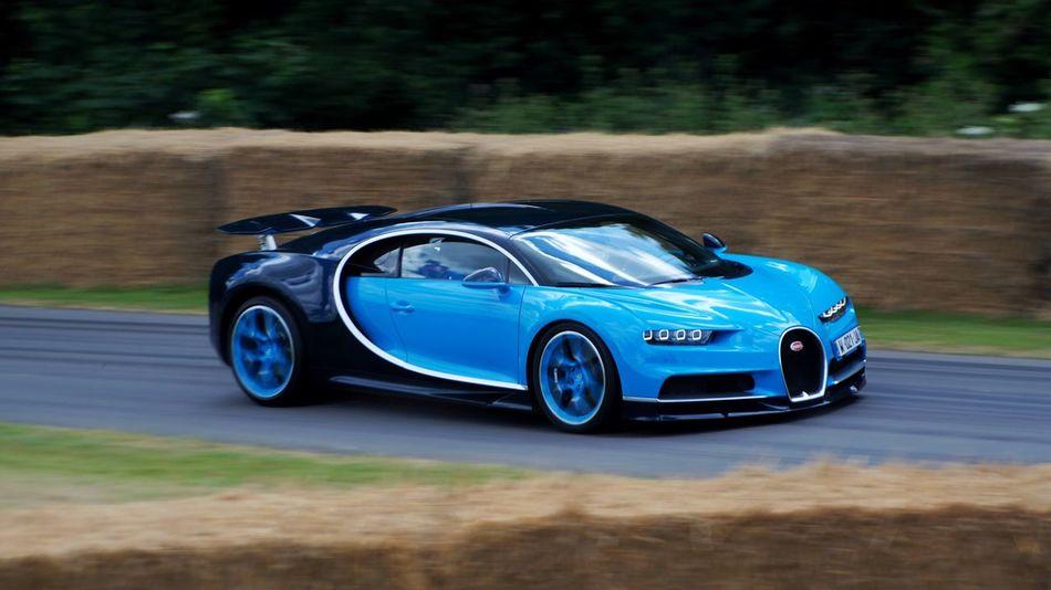 Car Sports Car Motion Luxury Racecar Bugatti Bugatti Chiron