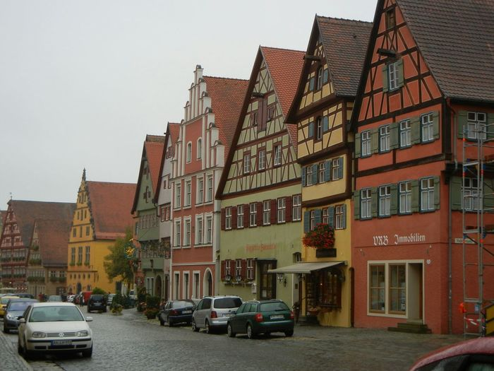 Rothenburg Germany Street Traveling