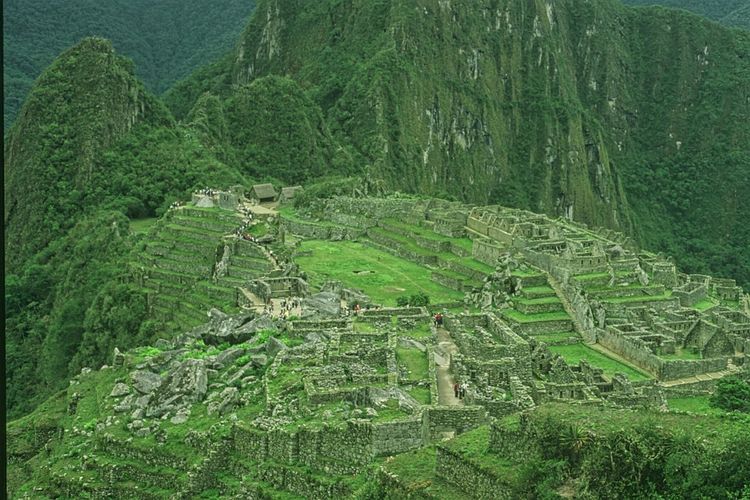 Color Palette Macchu Picchu Peru Old Travel Old Photo Historical Site Incas Beauty Green Color South America Latin America The Past Old Civilization Travel