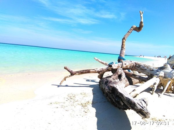 Gili Labak island Sea Beach Sand Sky Water Outdoors Nature Horizon Over Water Adult Day People One Man Only Only Men One Person Adults Only Young Adult Gili Labak Maduraisland