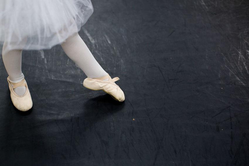 Ballet Ballet Class Ballet Dancer Ballet Shoes Ballet Time  Copy Space Little Girl Person Standing