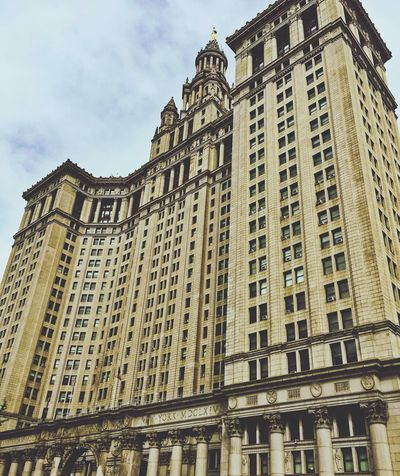 Built Structure Architecture Building Exterior Low Angle View Sky Building City Day No People Nature Cloud - Sky Travel Destinations History The Past Outdoors Office Building Exterior Tall - High Window Tourism Travel