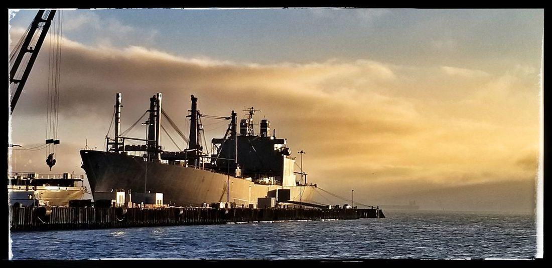 Oil Pump Sailing Ship Offshore Platform Industry Metal Industry