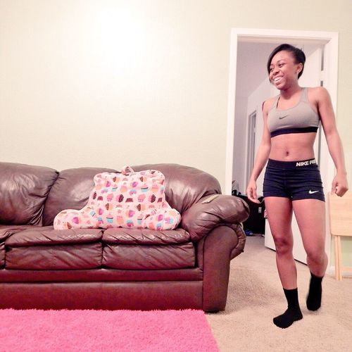 Nike, Fitgirl, Athletic, Workout, Fitness, Fit, Smile, Laughter