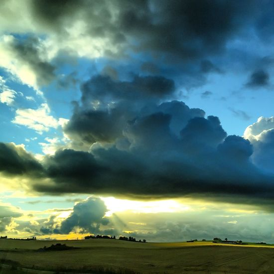 Waves on land Clouds And Sky Nature Photography Landscape_photography Colorful Sky And Clouds Sky Collection