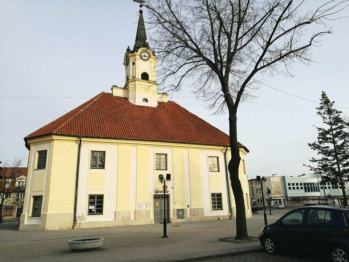 Ratusz Bielsk Podlaski HuaweiP9 Centrum
