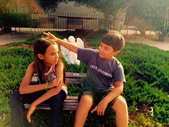 The innocence of children Happiness Children