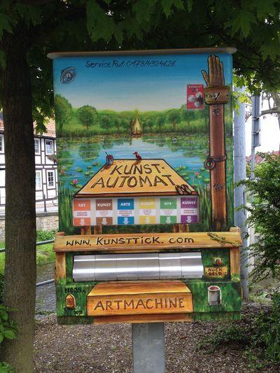 Artmachine Automat Communication Culture Kunst Kunst-Automat Kunst-Vermarktung Vermarktung