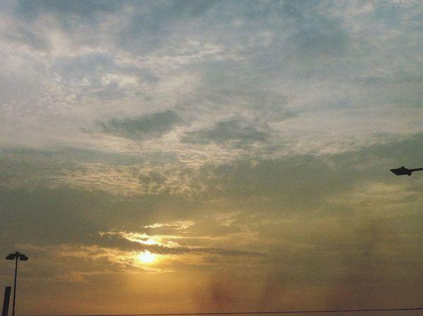 Cloud And Sky Taking Photos Enjoying Life beautiful sunset... In Perú