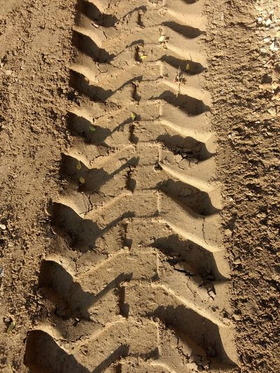 Like a Zipper Clay Sand Way Forward Eyeem Market Foot Prints Missioncomplete Lunar Surface Soil Texture Mars Colonization Progress Work Tractor Wheel Print Photography North