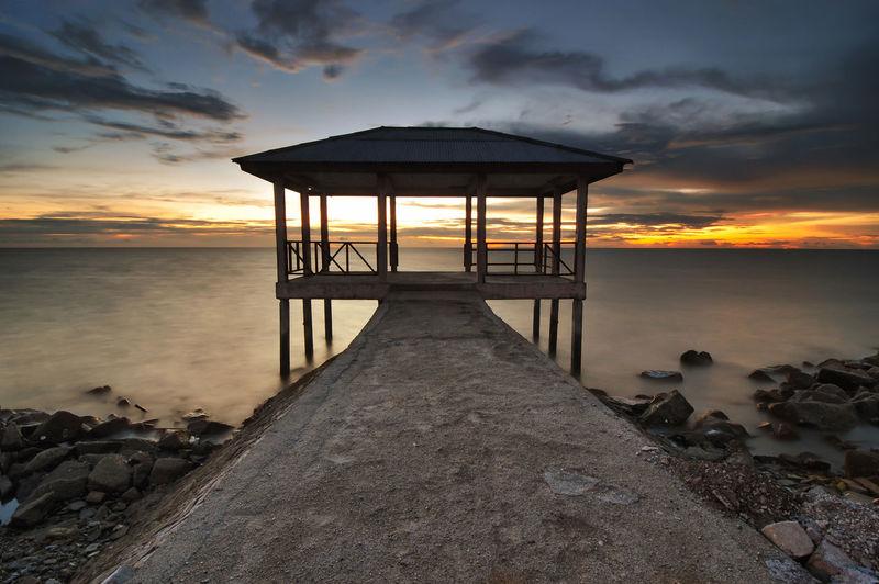 Dusk Lanscape Nightfall Owllight Seascape Sunset Twilight Waterscape