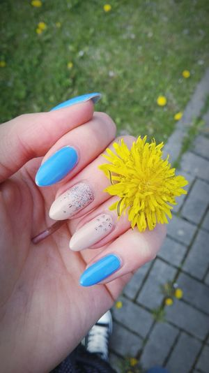 Nails Flower Spring Happy Time 😛 😁 💎 ✌