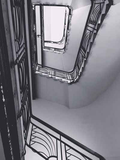 Railing Staircase Steps And Staircases Steps Spiral Stairs Architecture Built Structure Low Angle View Spiral Staircase Hand Rail Indoors  Spiral Stairs No People Day EyeEmNewHere