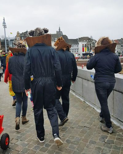 City Day Outdoors People Maastricht Karneval Costume