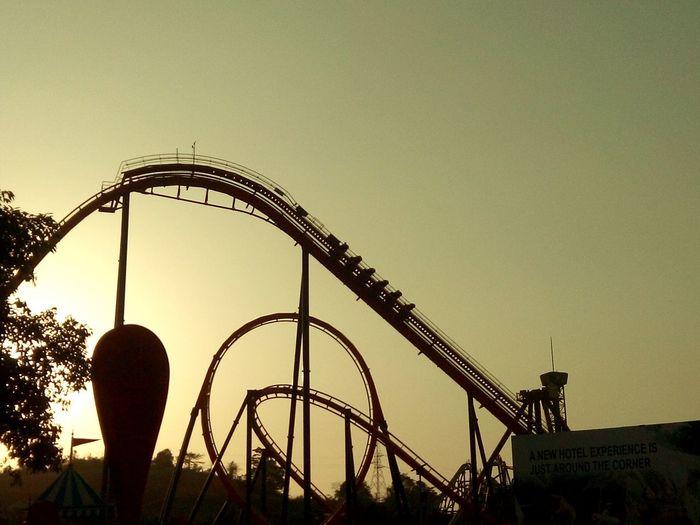 Amusementpark Roller Coaster Evening Sky Family❤ Enjoying The View Sunset Enjoying The Sights Scream And Shout Nice Shot Amazing View EyeEmNewHere