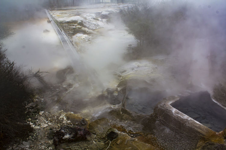 Hot thermal pool bath Steam Therapeutic Earthquake Environment Geology Geothermal  Heat - Temperature Hot Pools Hot Spring Hot Water Mineral Nature No People Physical Geography Pool Power In Nature Rock Scenics - Nature Spa Steam Therapeutic Water Thermal Thermal Bath Volcanic  Water