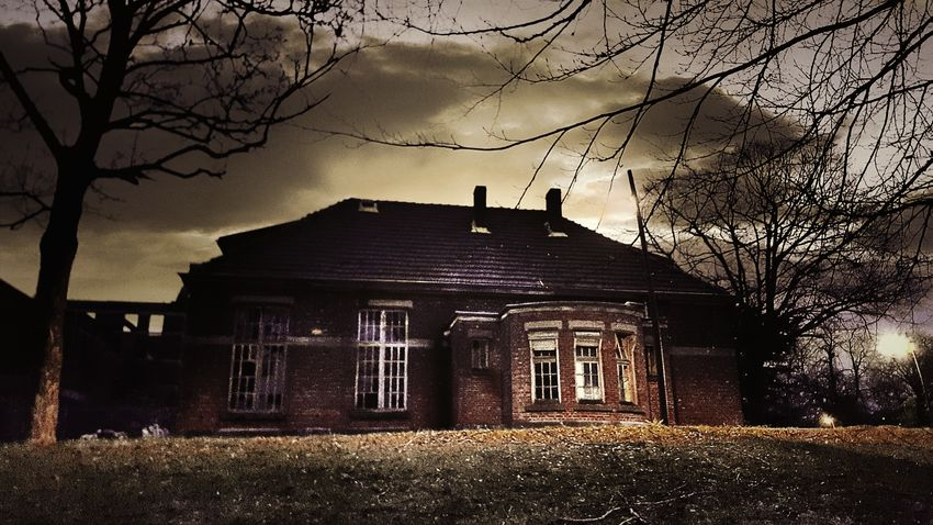 Haunted house Haunted House Ghost Mons Spirit Afraid Dark Sky Darkness