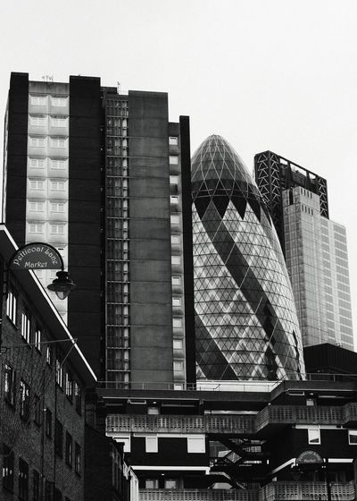 The City of London as seen from Whitechapel London Black&white Architecture_collection Blackandwhite City Architecture