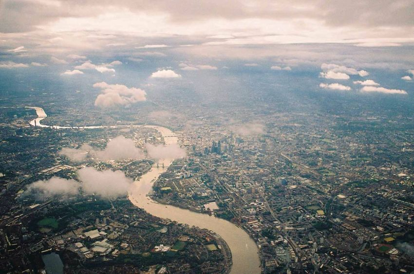 Cityscape London Aerial View Architecture Beauty In Nature City Cityscape Cloud - Sky Flying Landscape Nature Outdoors Scenics