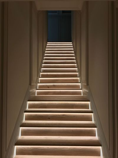 Stairs Design Architech Led Lights  LED Staircase Staircase To Heaven