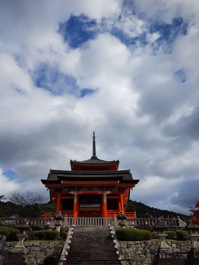 Built Structure Cloud - Sky Architecture Building Exterior Sky Building Religion Nature Belief Place Of Worship Spirituality Travel Destinations Low Angle View Travel Day History The Past No People Outdoors