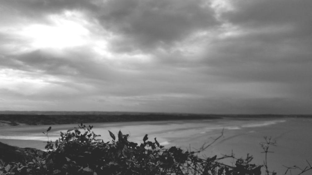 Black & White Sea Cloud Porn Countryside