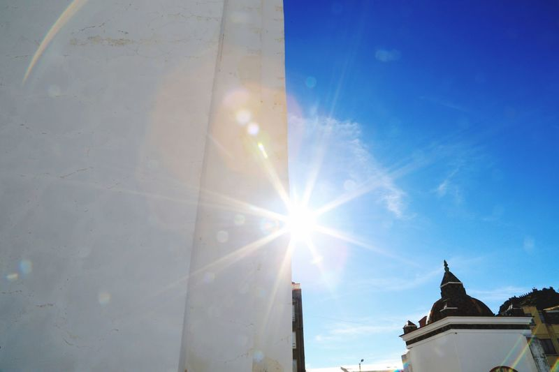 Sunshine Latin America Copacobana Titicaca South America Canon Architecture Sky Built Structure Sunlight Sun Building Lens Flare Nature Sunbeam Blue Building Exterior Day No People Low Angle View Outdoors Sunny City Cloud - Sky Religion Travel 10