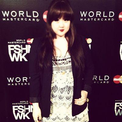 Backstage at Wmcfw Fashion Style Torontofashionweek ootd instagood instamood selca selfcam korean koreangirl asian asiangirl 얼짱 셀카 한국인 ulzzang uljjang me