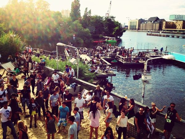 People Watching Berlin Summer Open Air By The River EyeEm Bestsellers