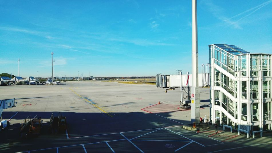 Waiting For Godot At The Airport Travel Photography EyeEm Munich Jetway Sunny Day