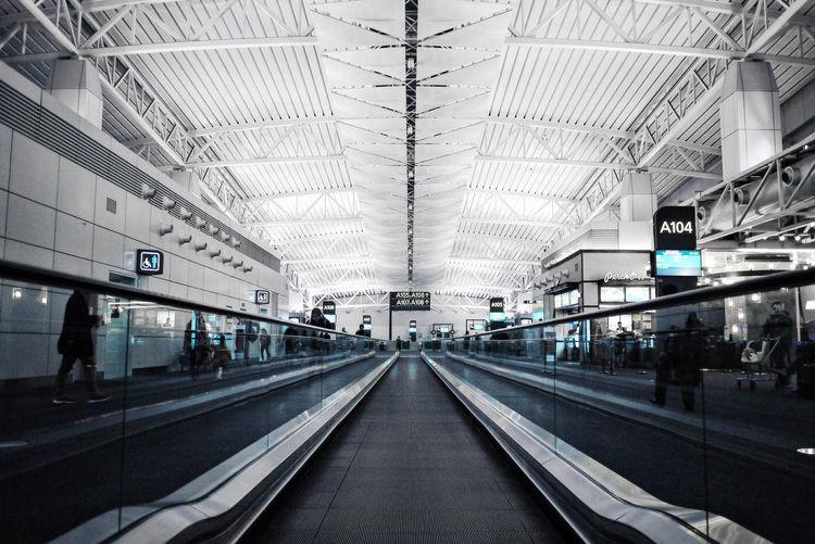 Guangzhou Baiyun Airport Boarding Area Feel The Journey