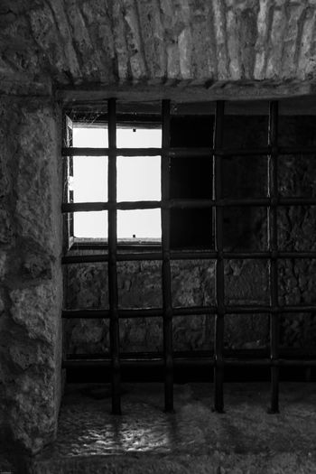 Montefusco Avellino Carcere Borbonico BW_photography Grata Finestra Architecture Window Indoors  No People Built Structure Building Day