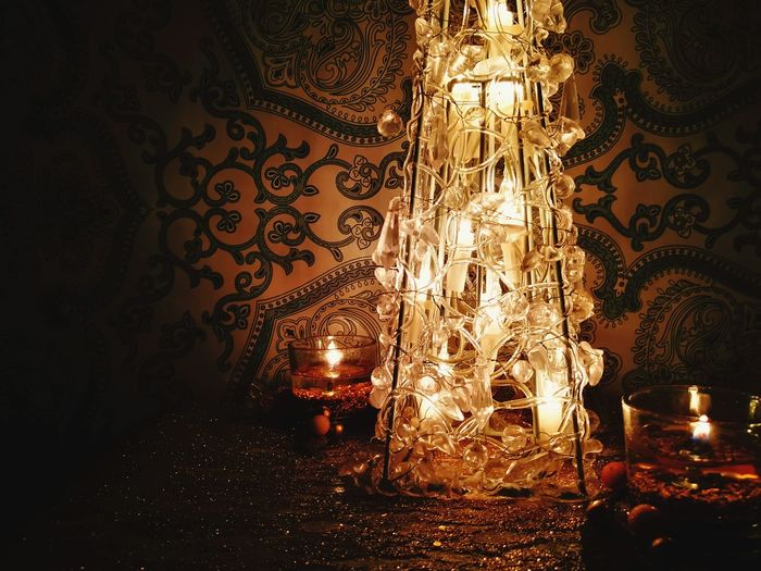 Candle Candle Light Christmas Lights Christmas Tree Christmas Decoration Christmas Background Christmas Candles No People Arts Culture And Entertainment Night Close-up