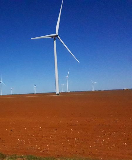 Wind Turbine Wind Power Alternative Energy Environmental Conservation Renewable Energy Fuel And Power Generation Environmental Issues Landscape Blue Technology Social Issues Day Rural Scene Environment Outdoors Sustainable Resources Wind No People Turbine Desert