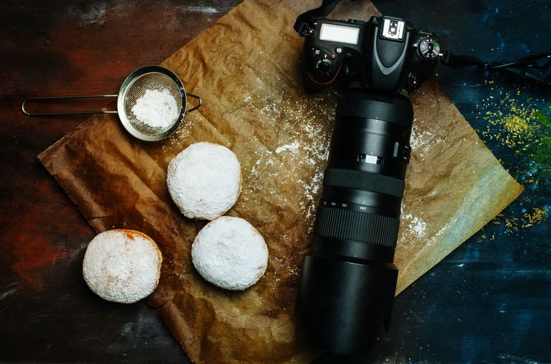 food photographer Foodphotography Foodphotography Foodstyling Essen Fotografer Camera Arbeit Doughnuts Magazine Table Close-up Still Life Pastry Pie Prepared Food