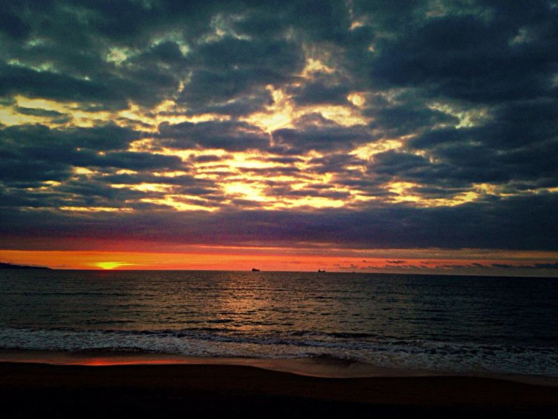 Sunset desde La Maloka Bizkaia Enjoying The Sun Enjoying Life Mola