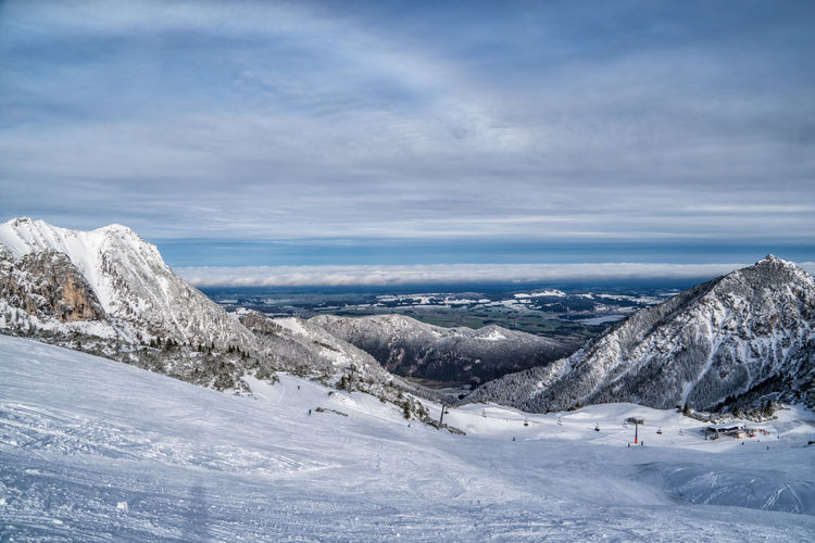 Winter mood Snow Winter Cold Temperature Mountain Scenics - Nature Cloud - Sky Sky Landscape Environment Beauty In Nature Mountain Range Day Nature Tranquil Scene Non-urban Scene Tranquility No People White Color Holiday Snowcapped Mountain Outdoors Mountain Peak Alps Austria Tyrol