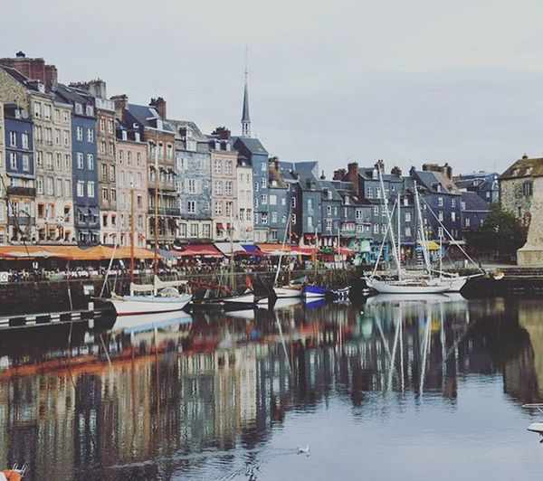 Honfleur 옹플레흐 France Travel