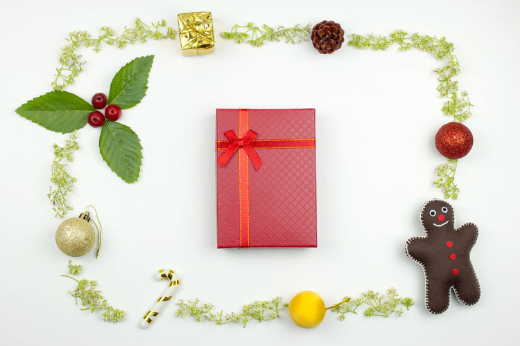 A red gift box