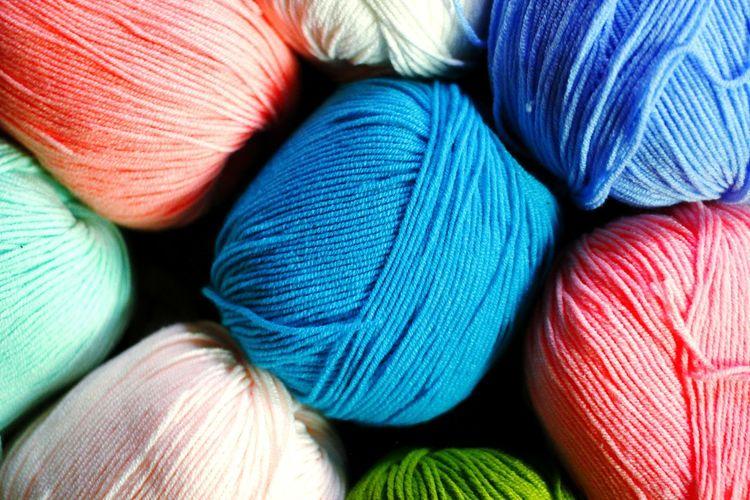 Full Frame Shot Of Wool